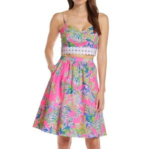 Lilly Pulitzer Women Evernia Set SIZE: 8 TWO PIECE